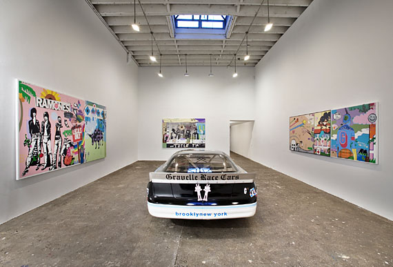 Installation view, Beyond and Back , 2004.