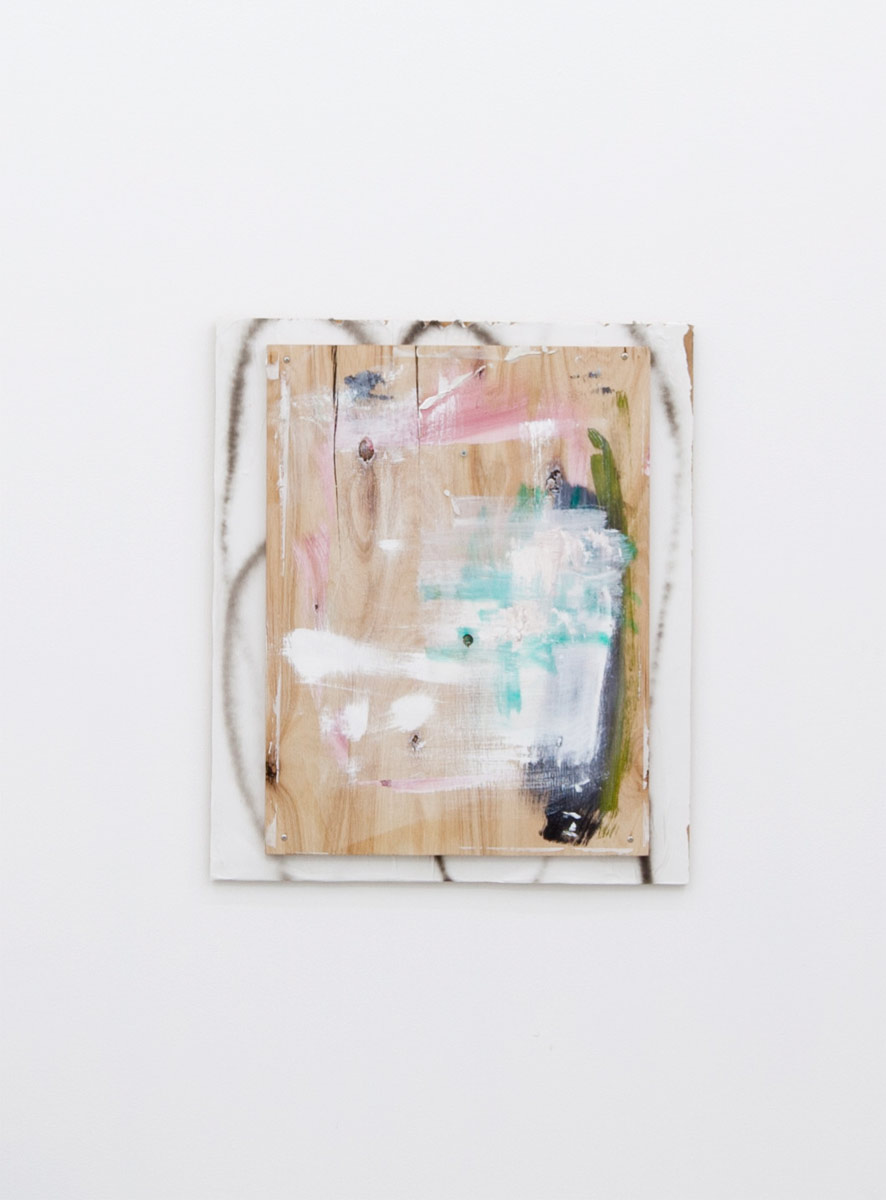 Untitled, 2012, 70,5 x 60,5 cm Mixed media on board