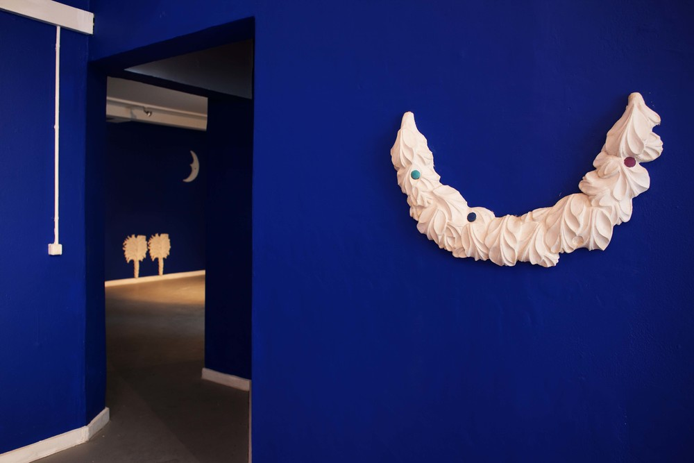 Installation view from Mathias & Mathias, 'Fine and Dandy', Q, Copenhagen, 2012
