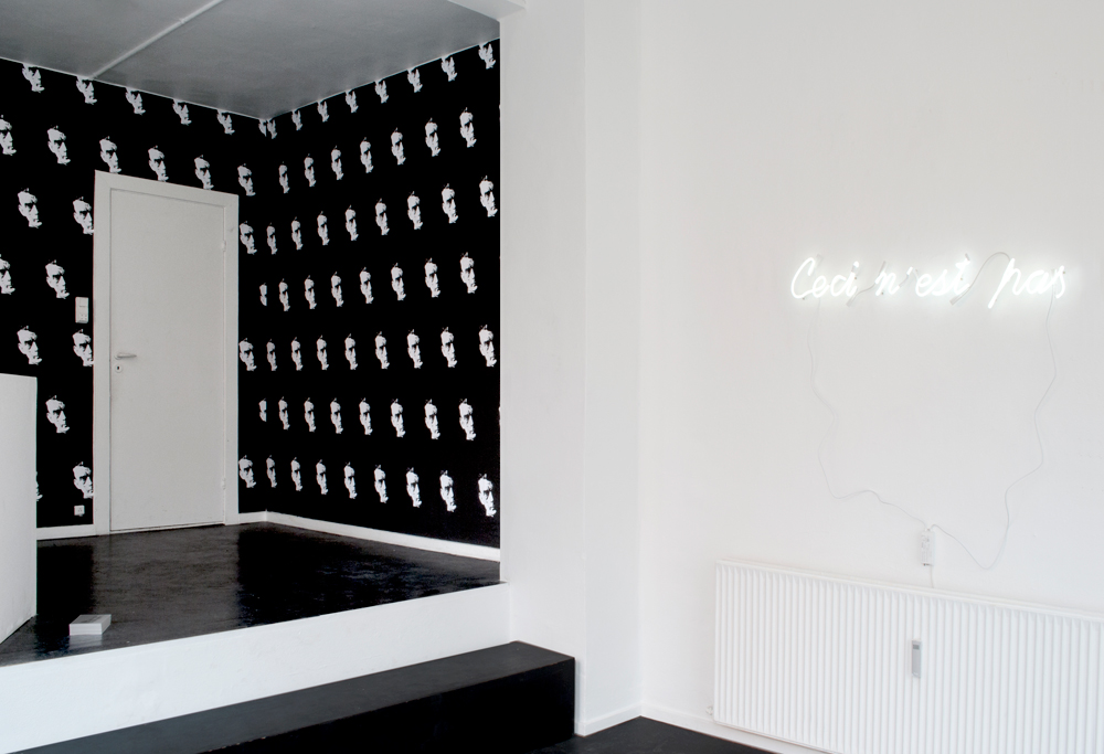 BECKETT WALLPAPER, 2012   Wallpaper   Dimensions variable