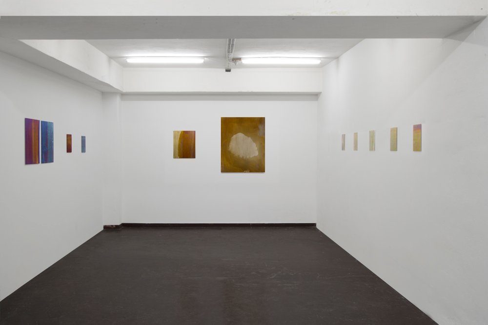 Installation view from Mikkel Carl's exhibition R.I.P. curl