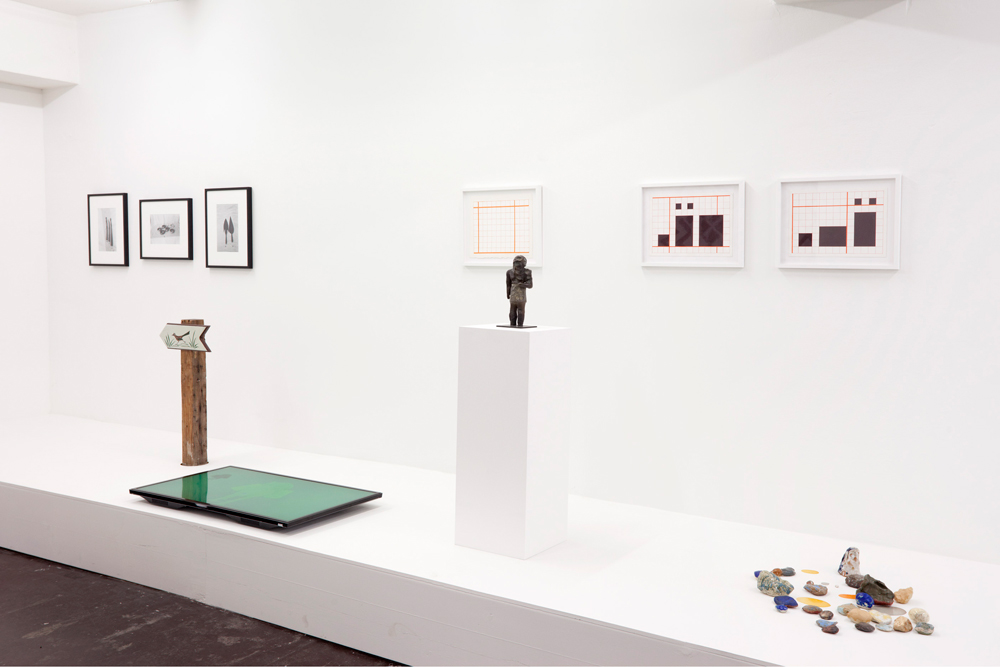 Exhibition view from The Things We Know (Curated by Tim Saltarelli)