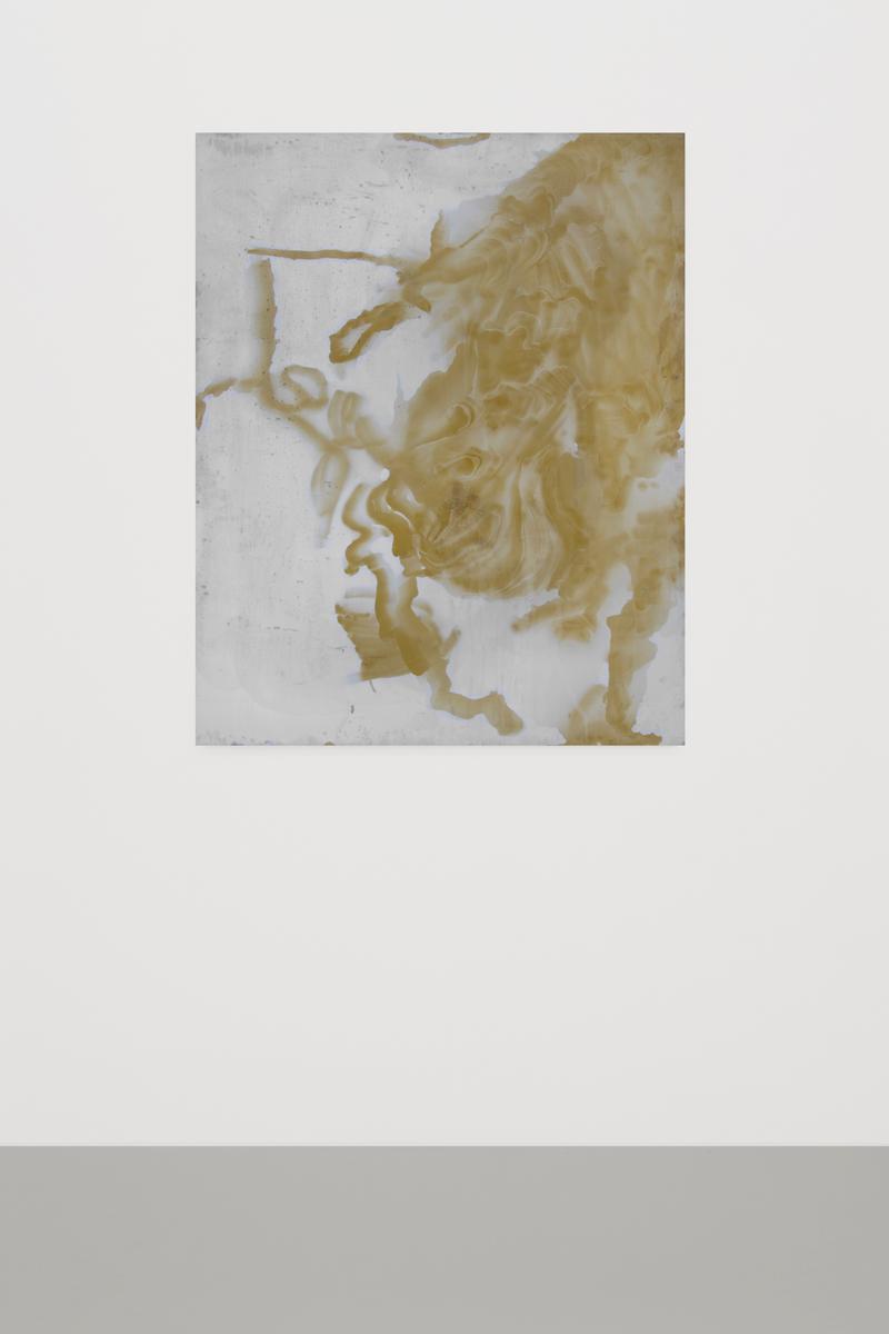 Untitled, 2014, Anodized Titanium, 125 x 100 cm