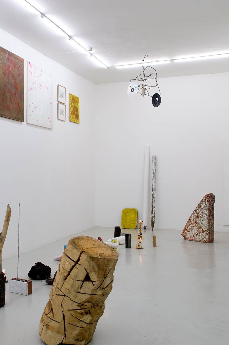 Installation view from exhibition Kälen