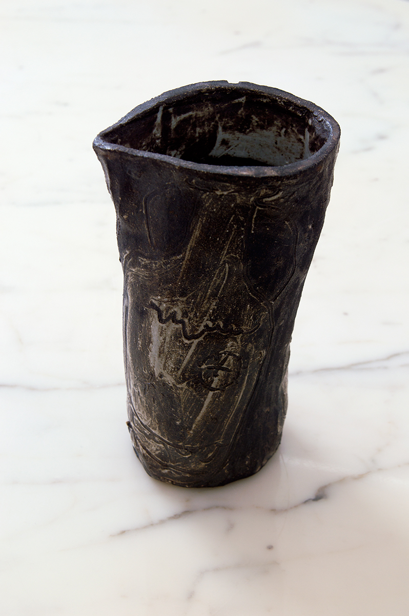 Ceramic glazed stoneware Natsuko Uchino, 2015 13x10x26 cm