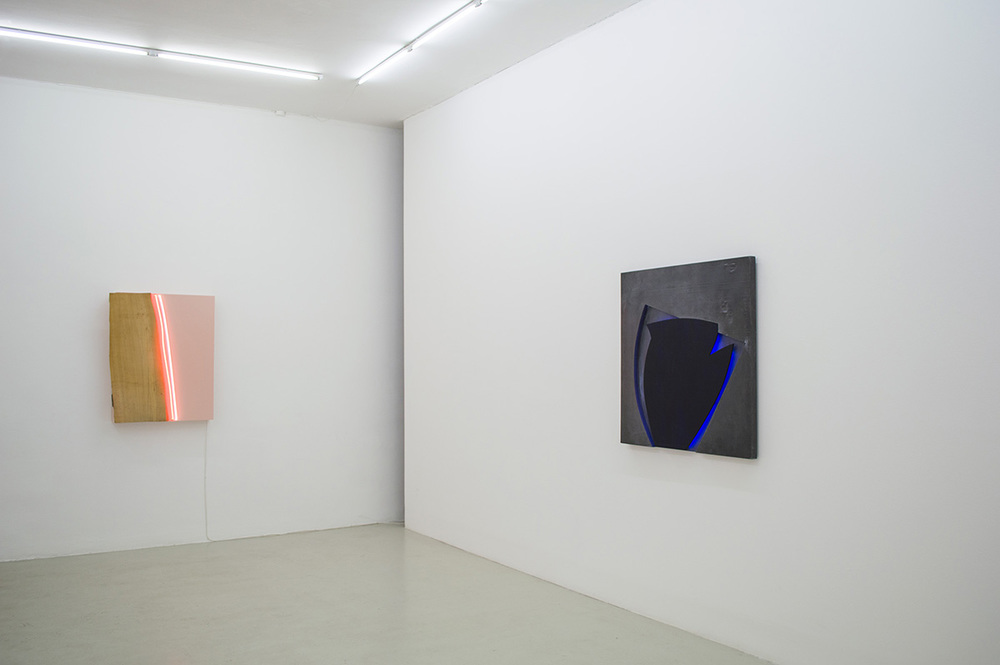 Installation view from Gun Gordillo's exhibition 'in light'