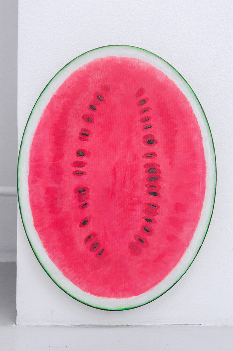 Adam Cruces    Watermelon,   2016 40 x 30 cm Acrylic on canvas