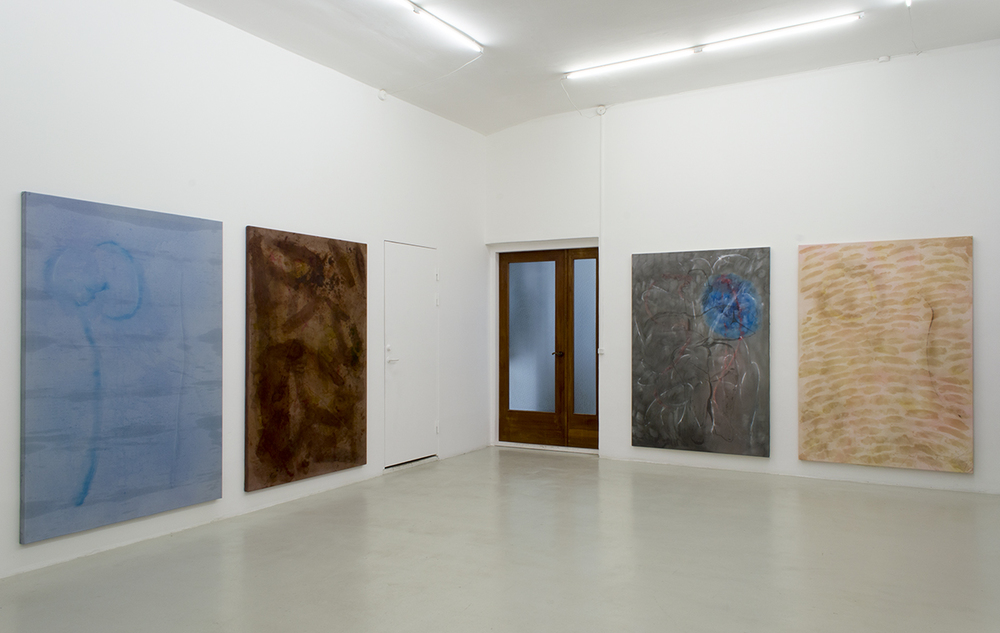 Installation view from Magni Borgehed's exhibition 13 true stories