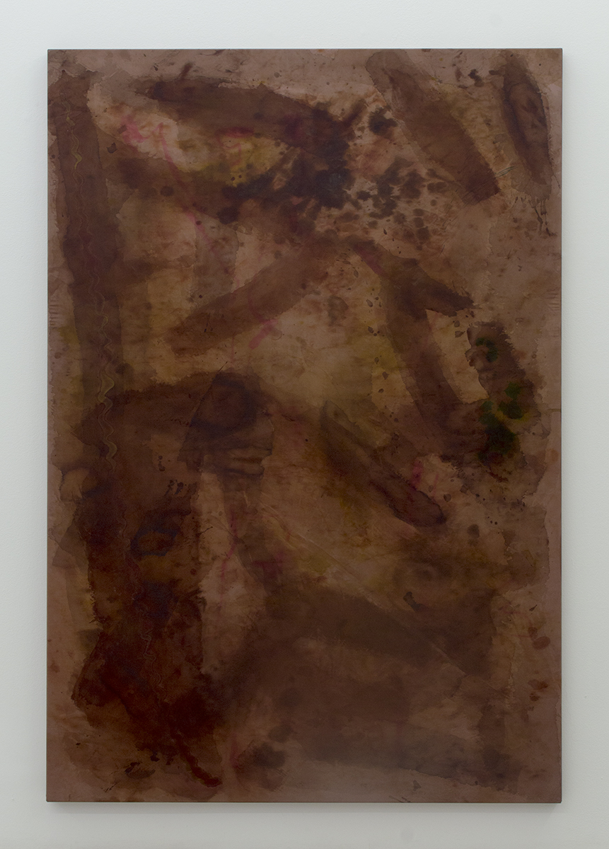 Untitled (13 true stories series #11) 2016 190 x 130 cm Silk paint and ink on silk