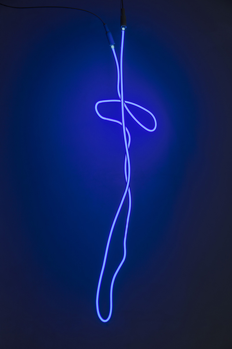 Esja, 2016 H. app. 100 cm Neon light