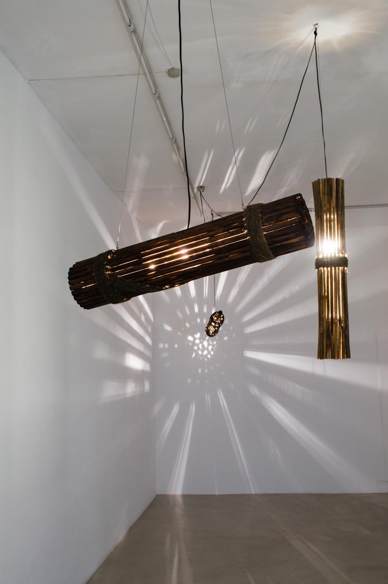 Lamp #4, Lamp #1, Lamp #5
