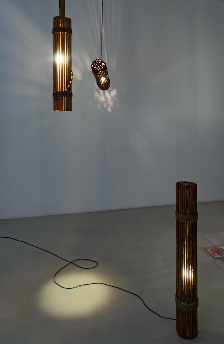 Lamp #5, Lamp #4, Lamp #3