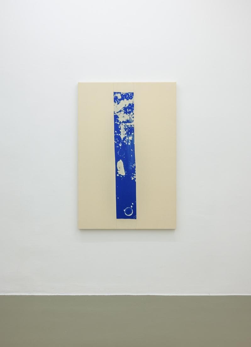 Tampo,  2018 150 x 100 cm Bleach on sewn cotton