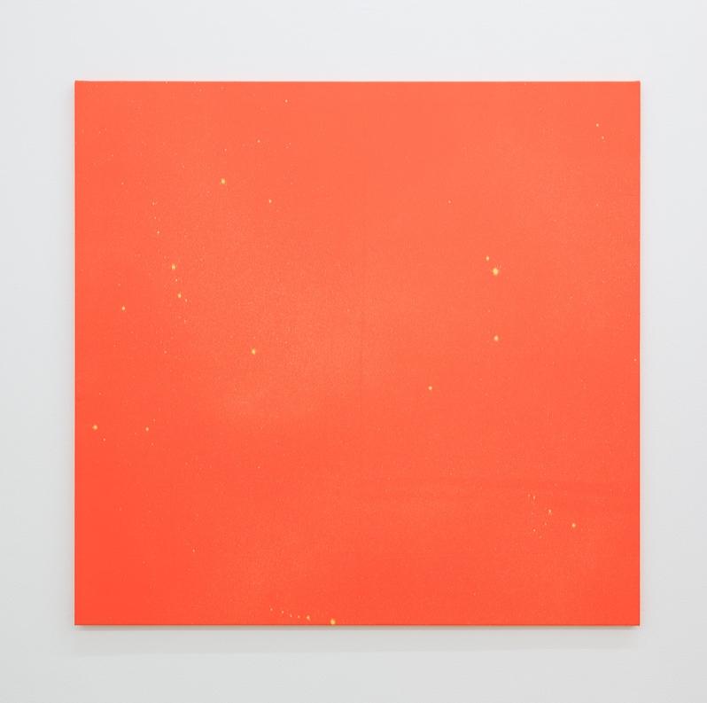 Untitled,  2019 120 x 125 cm Bleach on cotton
