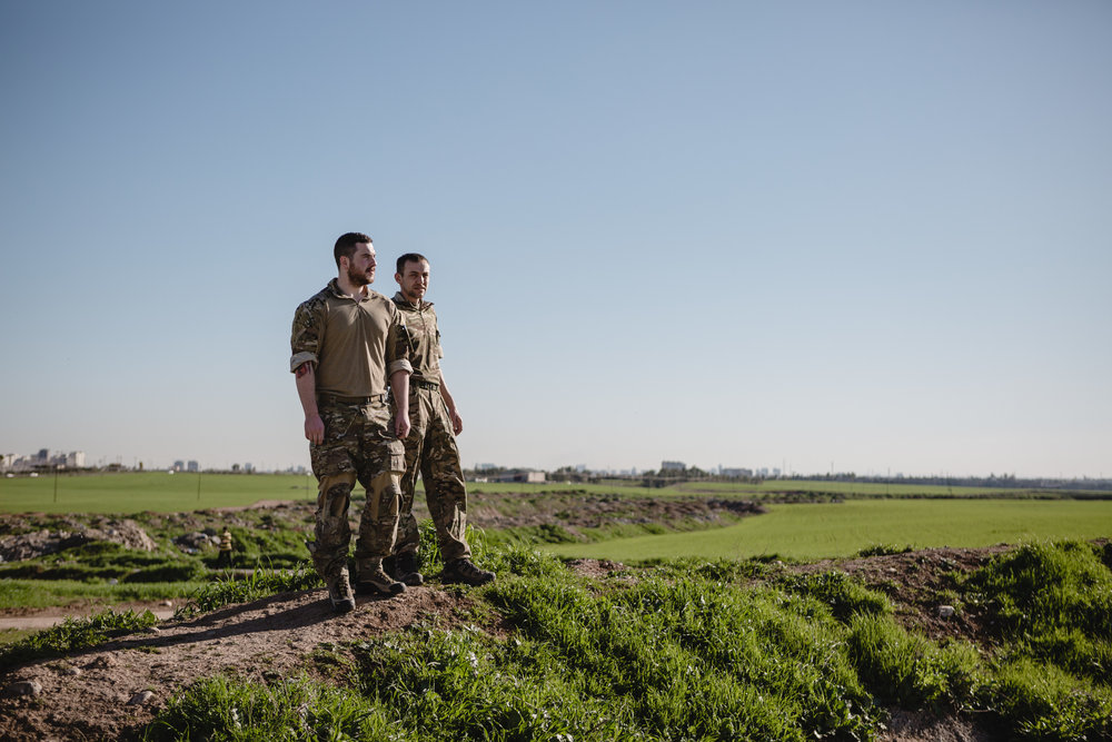 Why this British man left behind his family to fight Isil in Iraq - The Telegraph Magazine