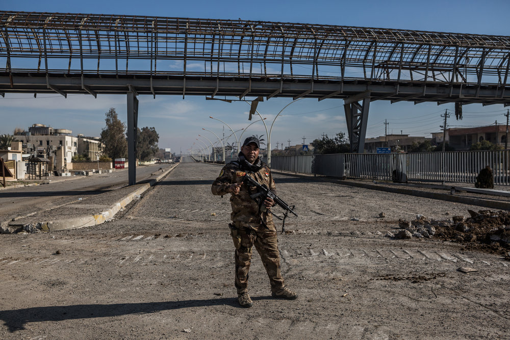 When French Jihadists Rained in Mosul - Le Figaro