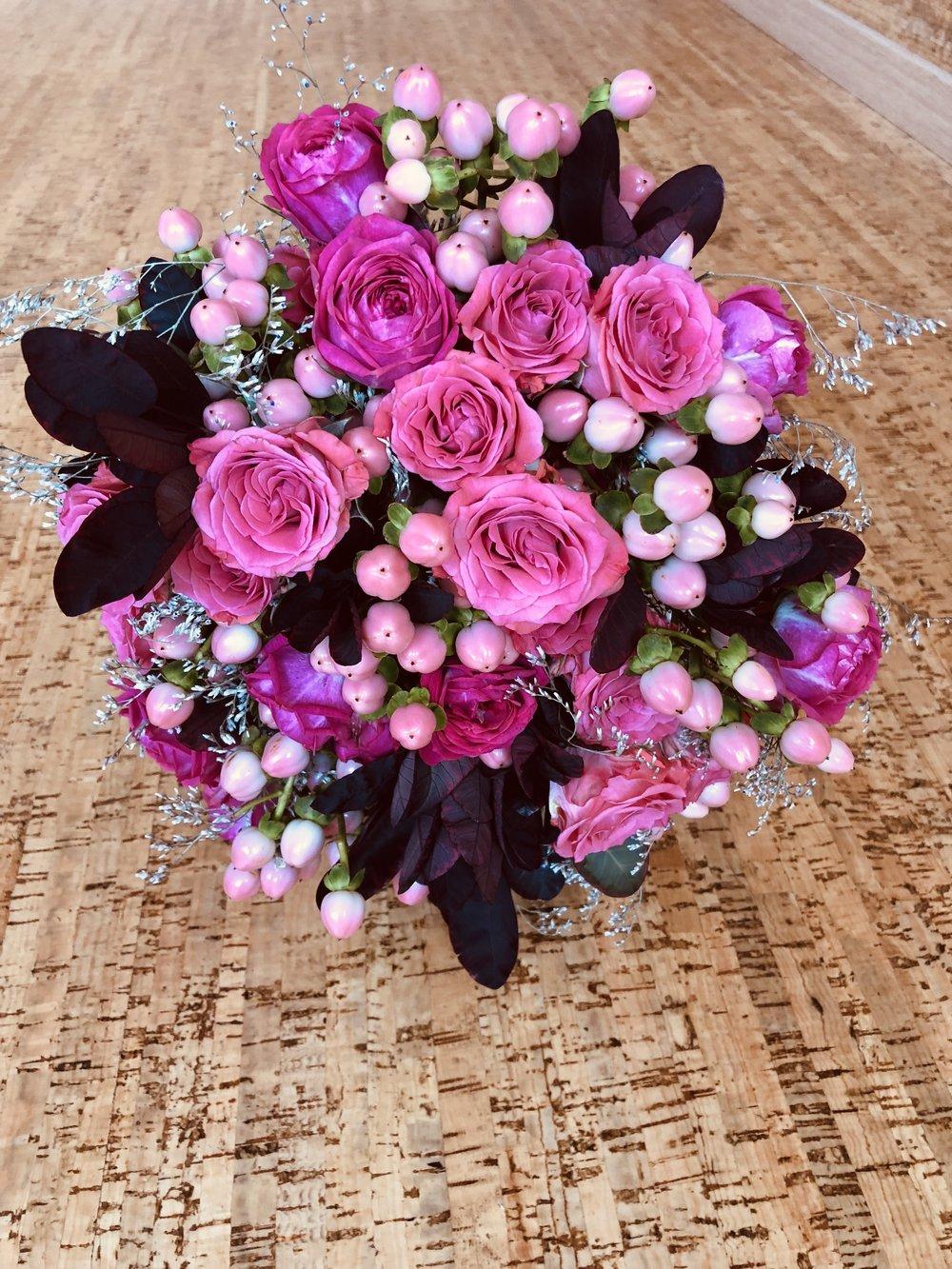 Букет из живых цветов - BUCHETUL MIRESEI DIN FLORI VII
