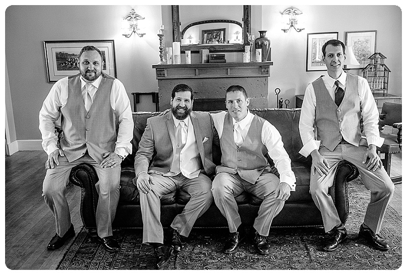 Stout's Island Lodge Wedding - the men