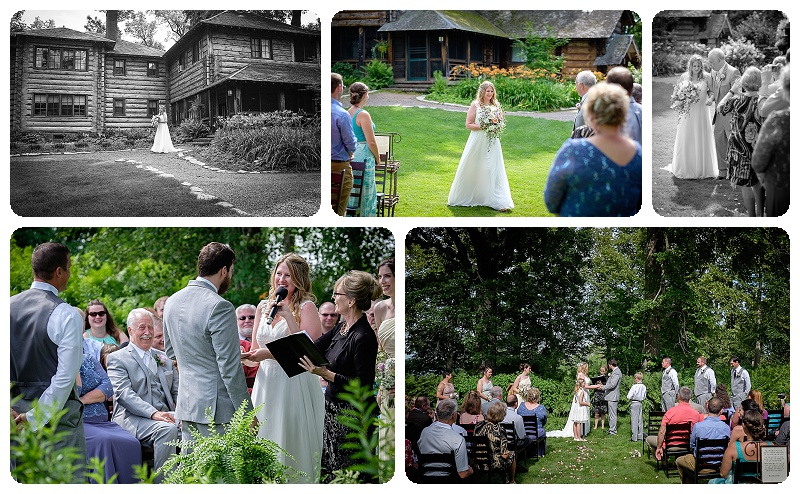 Stout's Island Lodge Wedding Ceremony - South Lawn part two