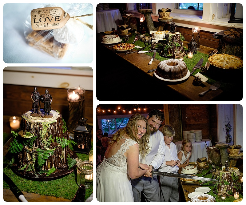 Sweets and Treats - Stout's Island Lodge Wedding