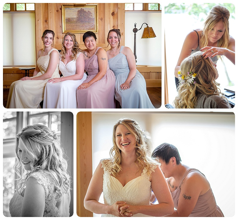 Stout's Island Lodge Wedding - getting ready part two