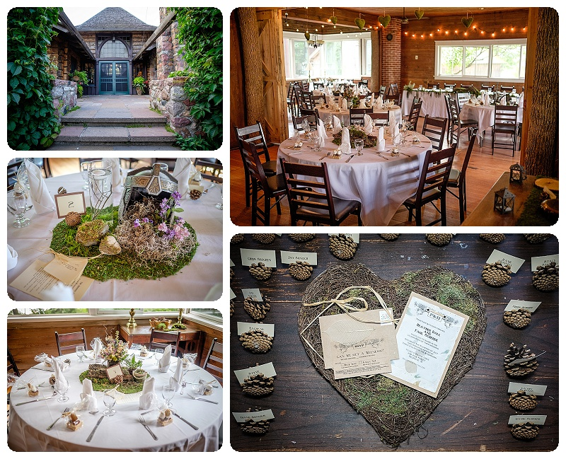A Northwoods wedding in the ice house at Stout's Island Lodge