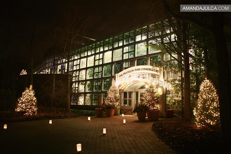 Franklin Park Conservatory Christmas Lights.Heath Lisa Franklin Park Conservatory Amanda Julca