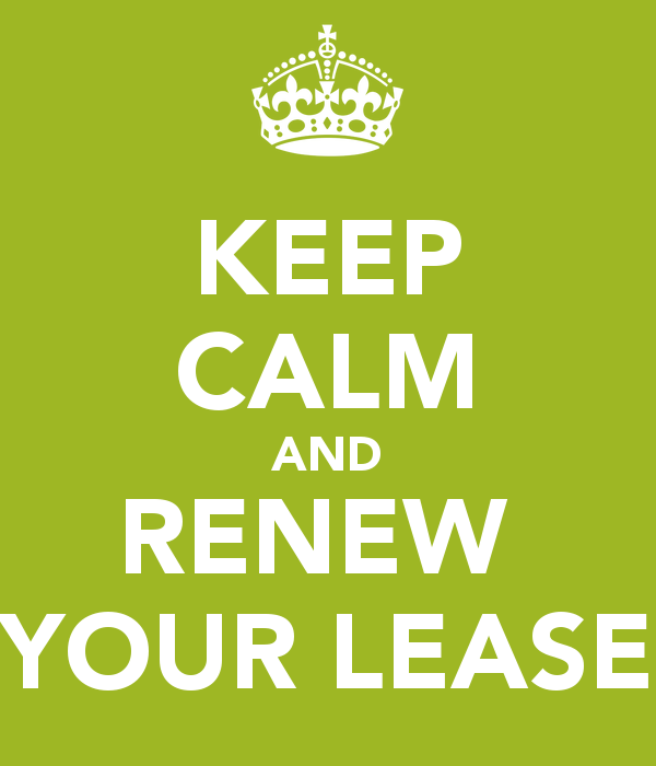 current residents renew your lease by september 30th college