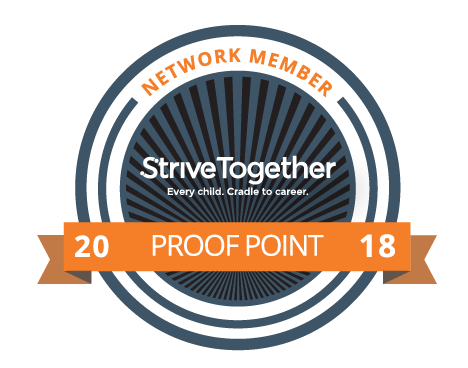 Proof point is highest designation a partnership can receive within the national StriveTogether Cradle to Career network.