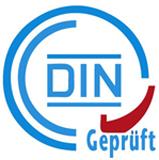 Certified by DIN-Geprüft