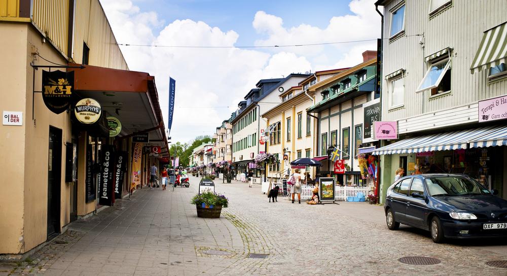 Västra gatan i Kungälv