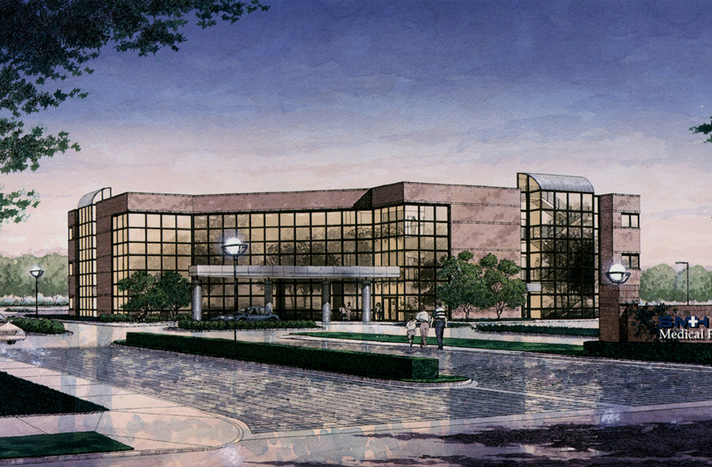 Slidell Memorial Hospital & Medical Center exterior rendering