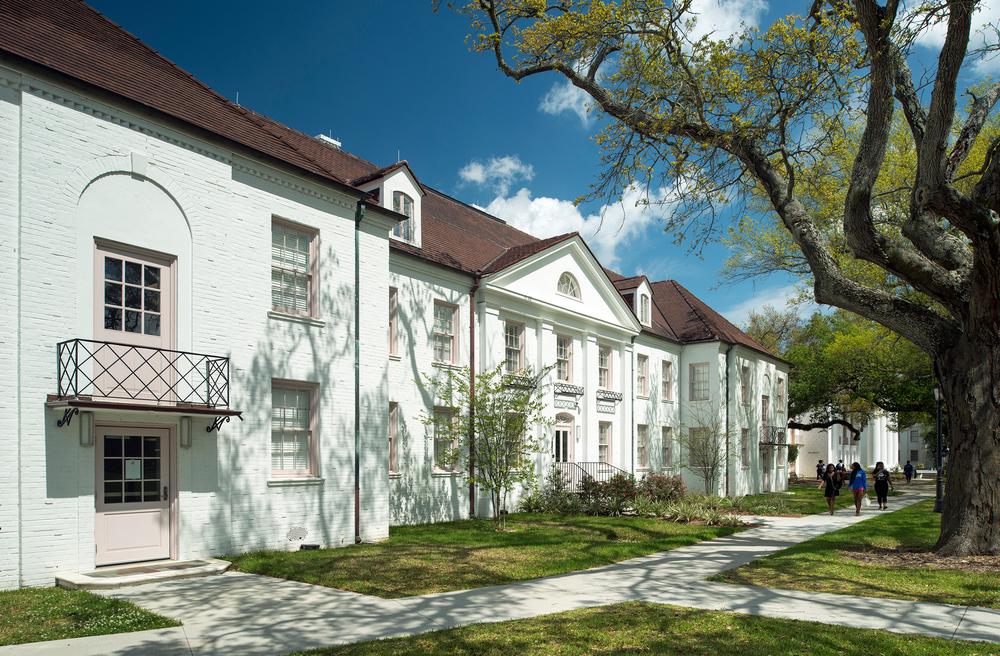 Dillard Camphor & Hartzell Residence Halls exterior