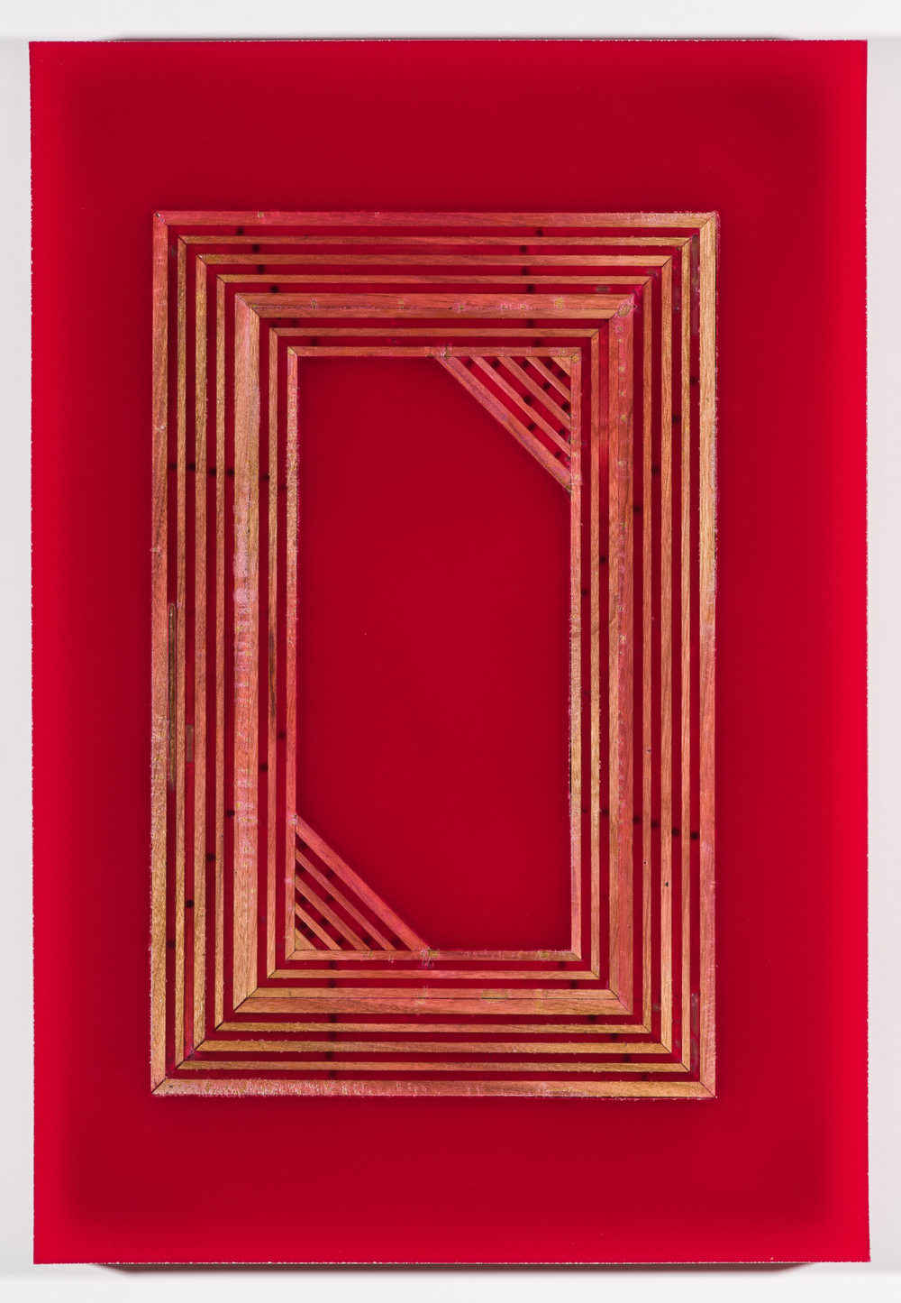 "Illuminated Manuscript #4, 11.5"" x 16.75 x 1.5"", 2016"