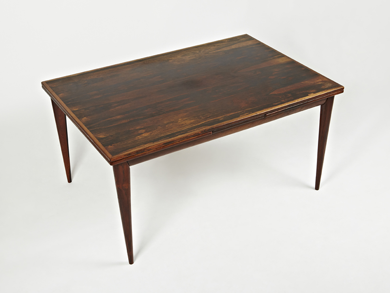 N O Moller 1955 Dining Table • made 1955-69 •