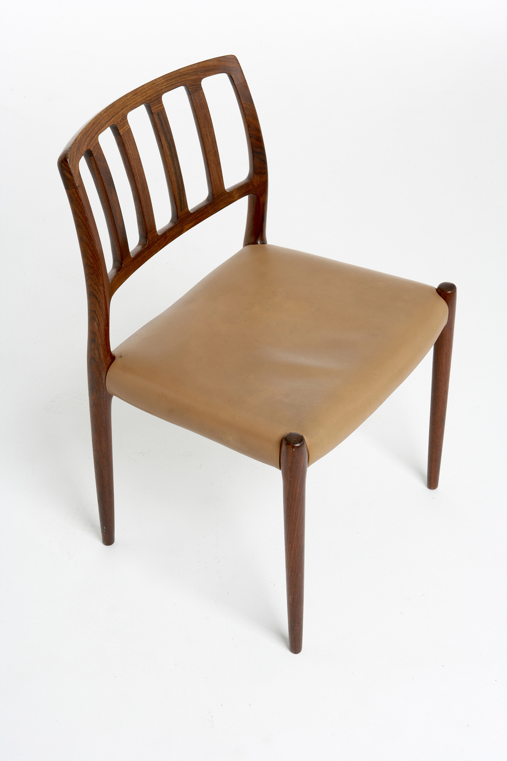 N O Moller 1974 Dining Chair • made 1974-90 •