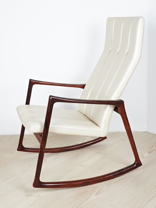 Jensen 1961 Rocking Chair in Rosewood