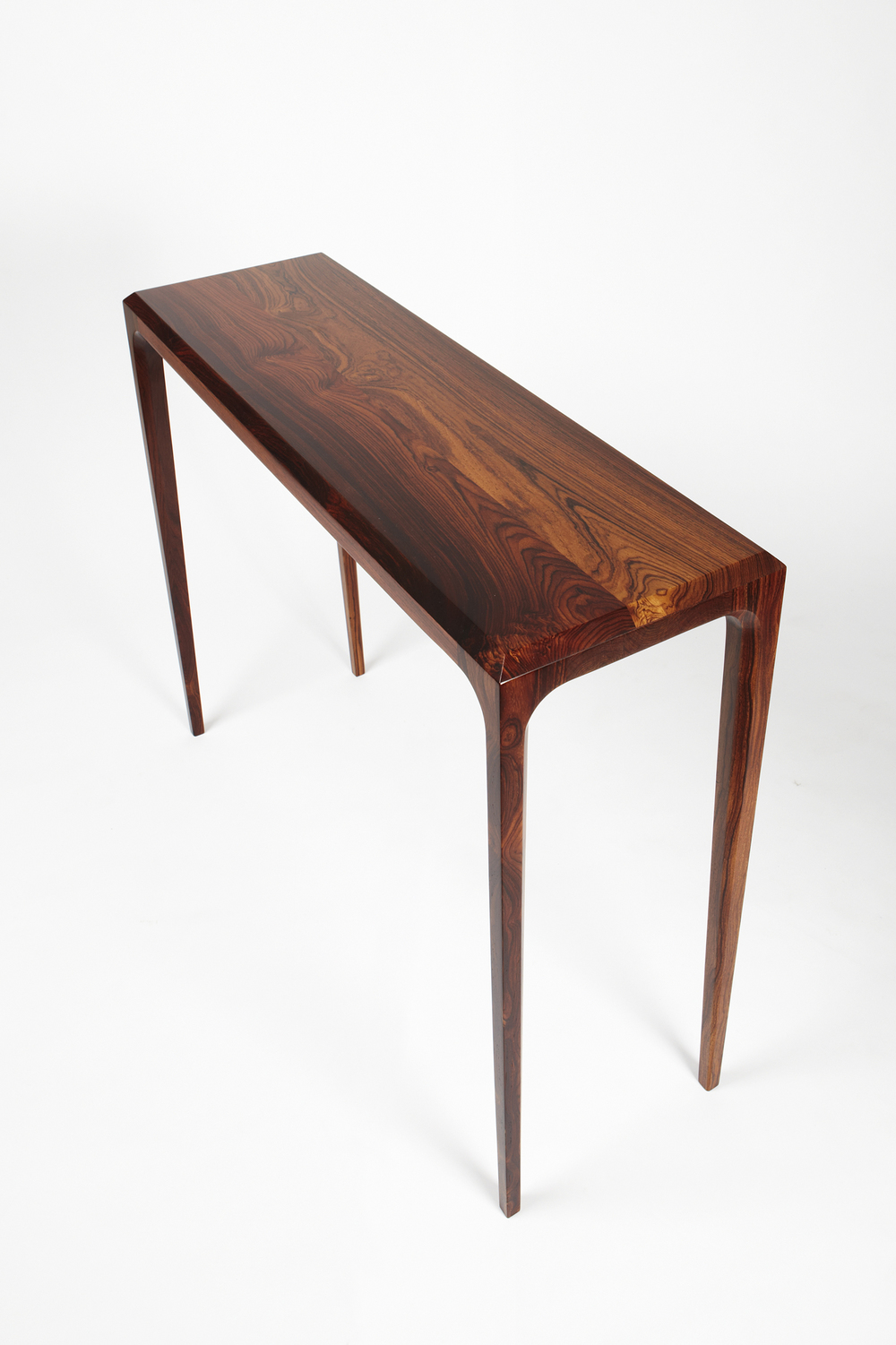 PD 60 Console Table in Solid Rosewood