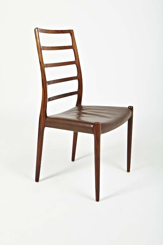 N O Moller 1970 Dining Chair • made 1970-90 •