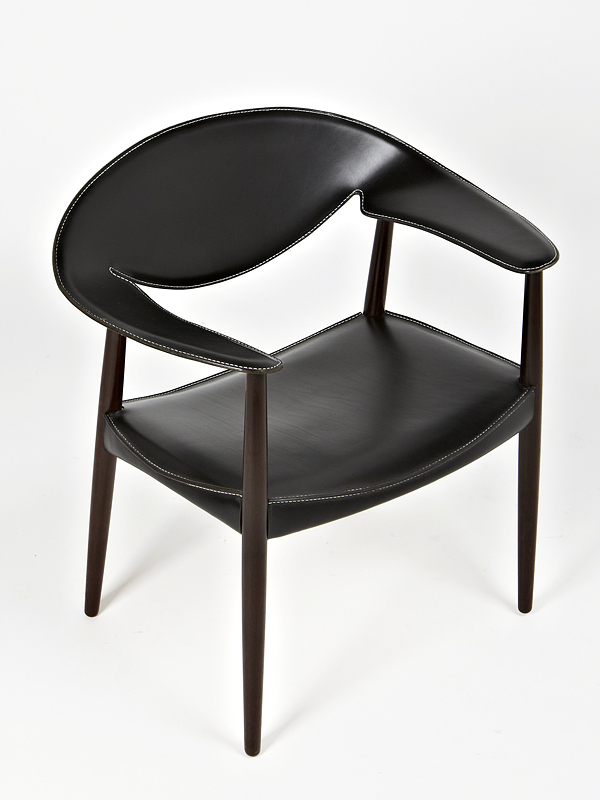 Larsen and Madsen 1959 Metropolitan Chair in Wenge
