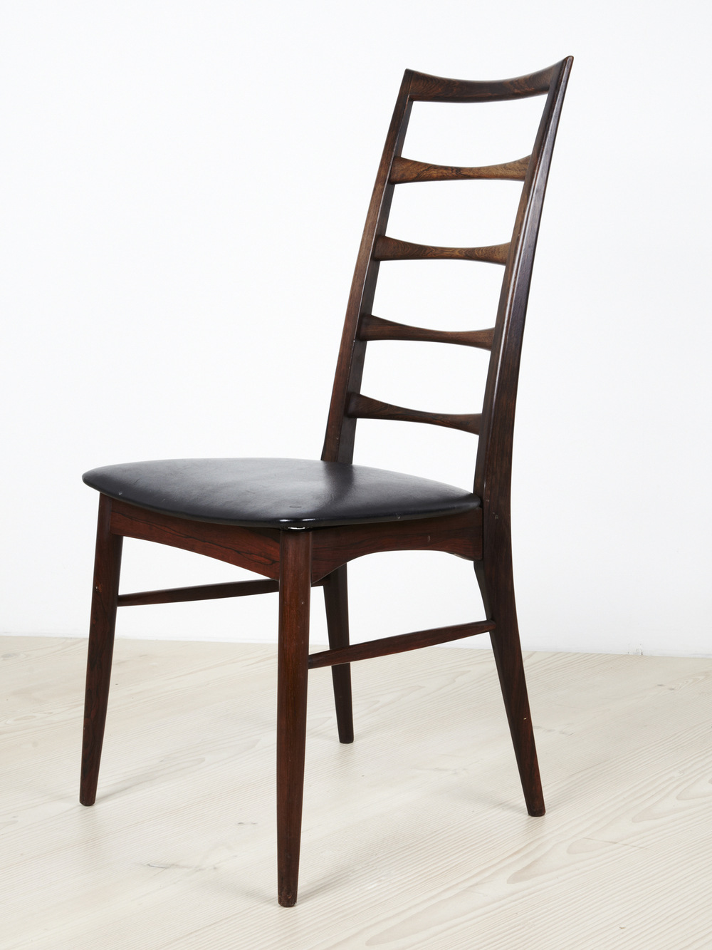 N Kofoed 1964 Ladderback Dining Chair • made 1964-69 •