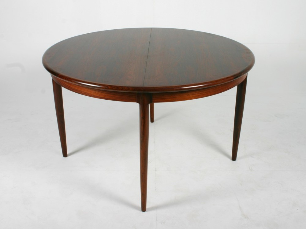N O Moller 1957 Dining Table • made 1957-69 •