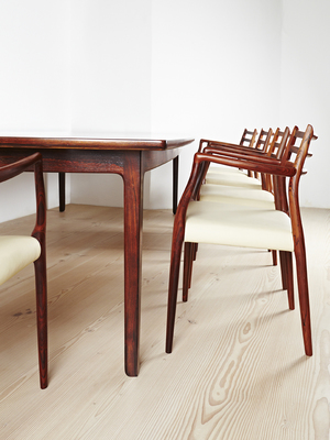 paere dansk vintage 1960s dining table product page