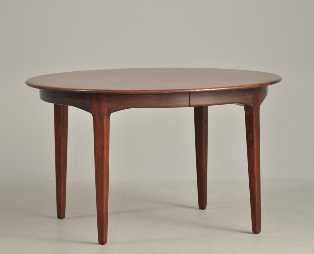 H Kjaernulf 1958 Dining Table • made 1958-69 •
