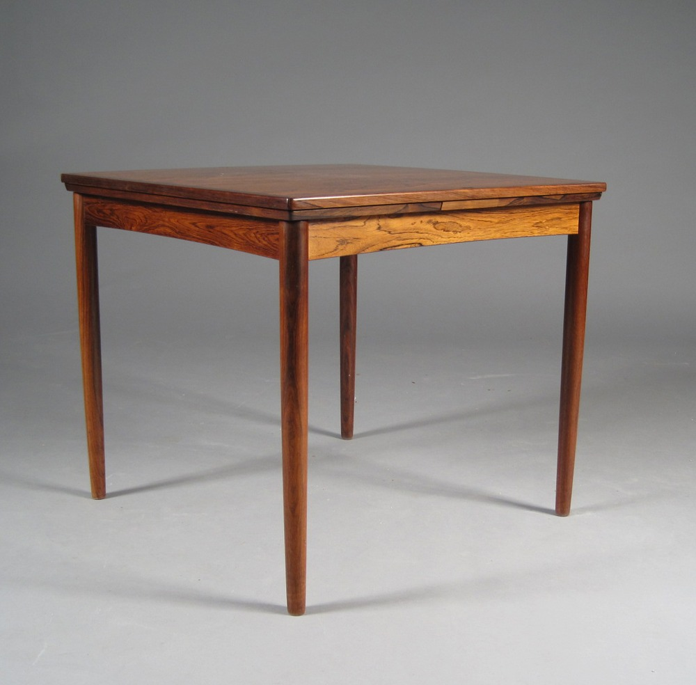 P Hundevad 1960s Dining Table • made 1960-69 •