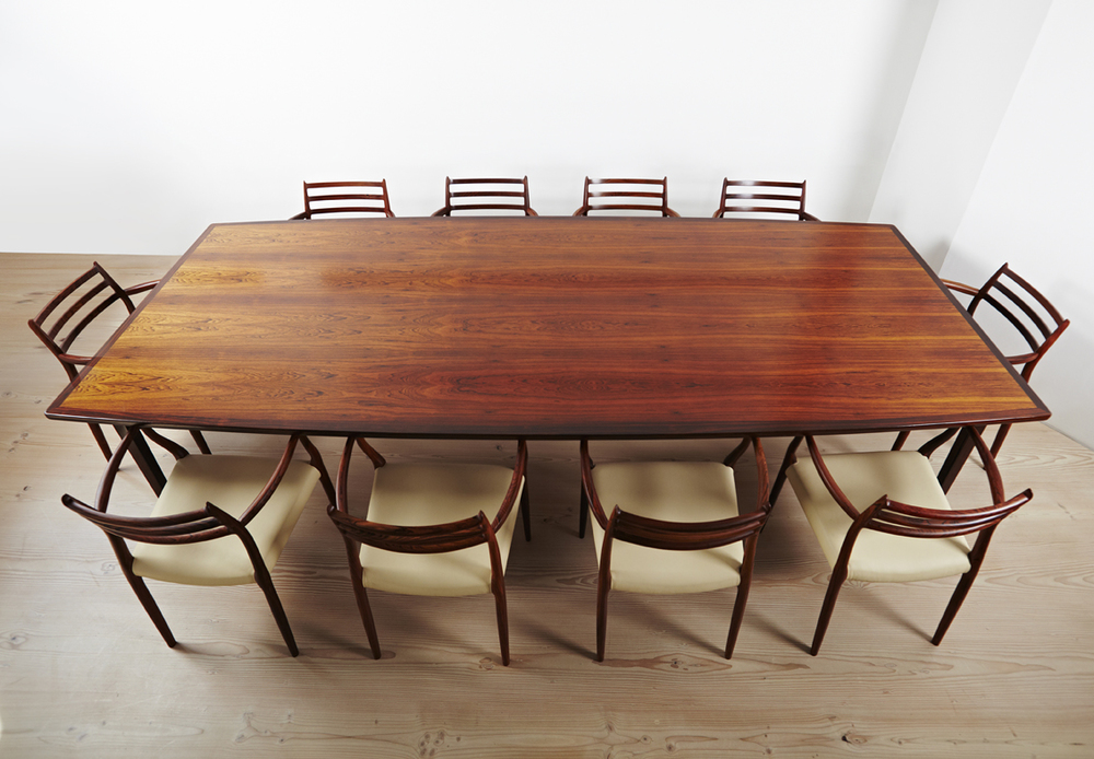 Vintage 1960s Dining Table • made 1960 - 1969 •