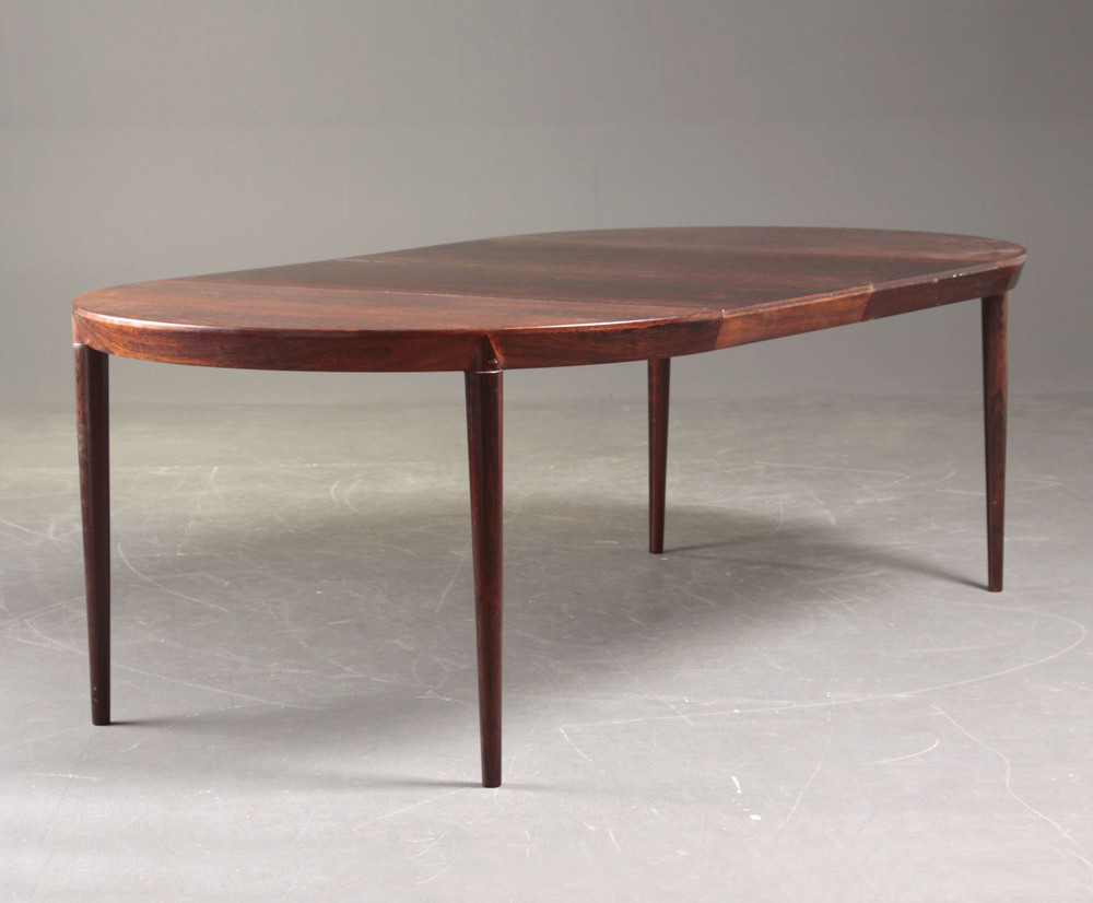 S Hansen 1965 Dining Table • made 1965 - 1969 •