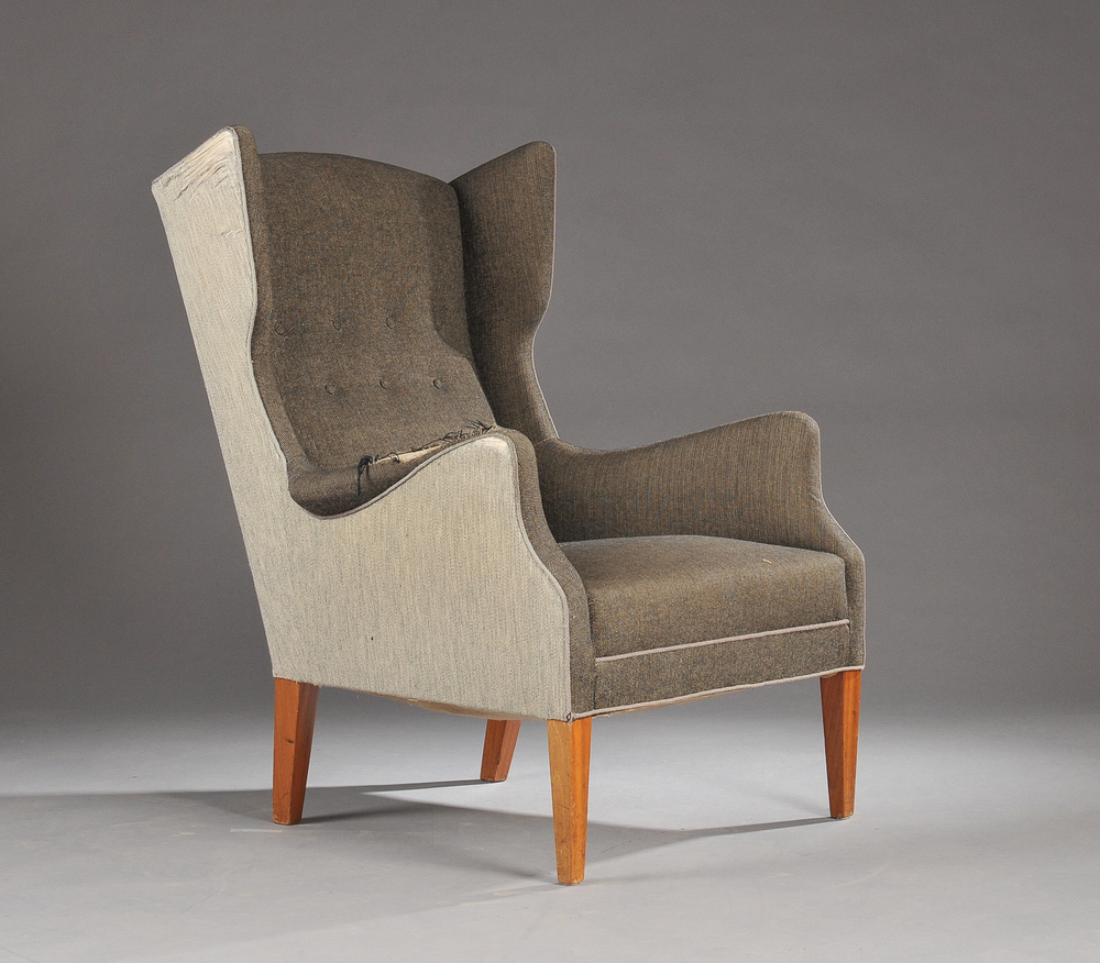 I M Christensen Wingback Chair • made 1940-46 •