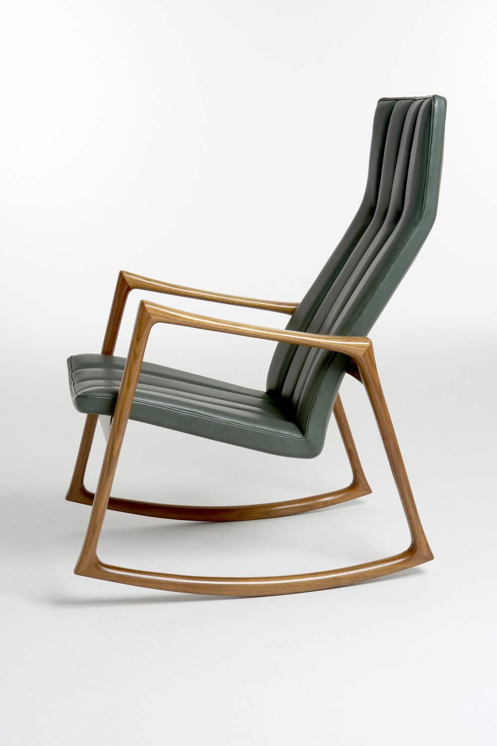 Jensen 1961 Rocking Chair in Walnut