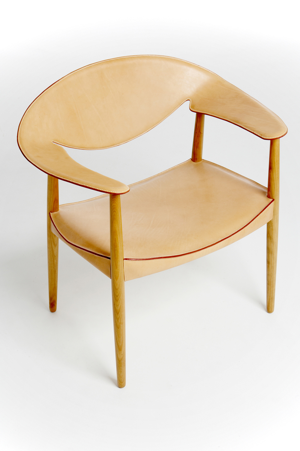 Larsen and Madsen 1959 Metropolitan Chair in Cherry